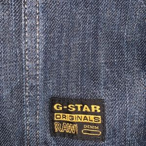 G star raw denim jacket